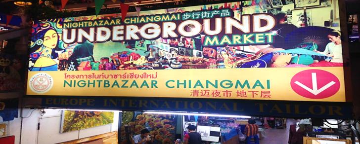 underground market chiang mai