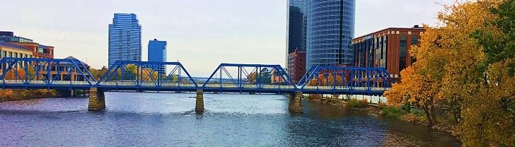 blue bridge grand rapids