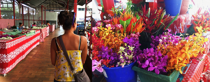 me at the papeete market