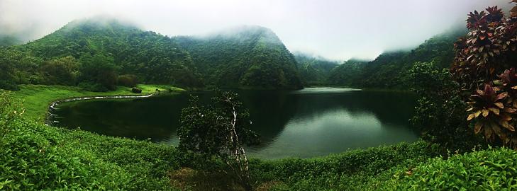 lake Vaihira Tahiti