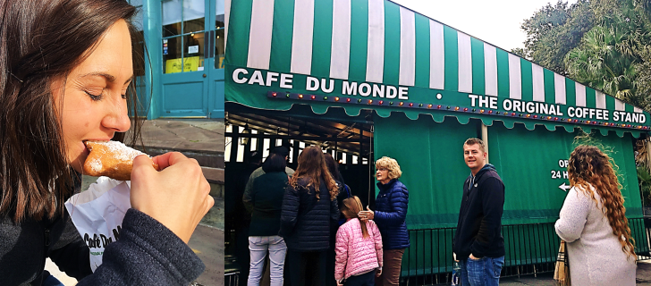 the original cafe du monde.
