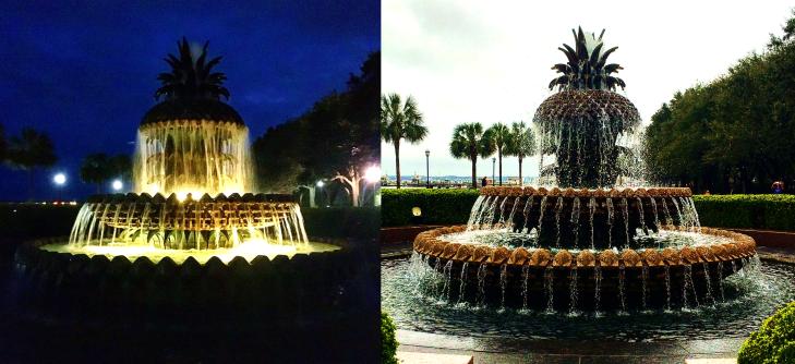 pineapple fountain charleston sc