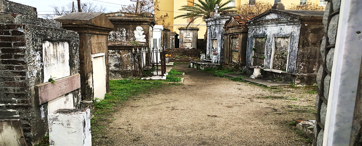 St. Louis Cemetery No. 1. tombs