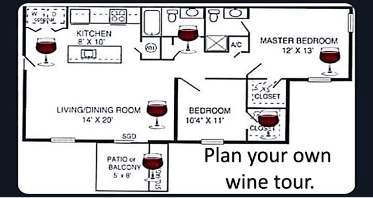 plan your own wine trail