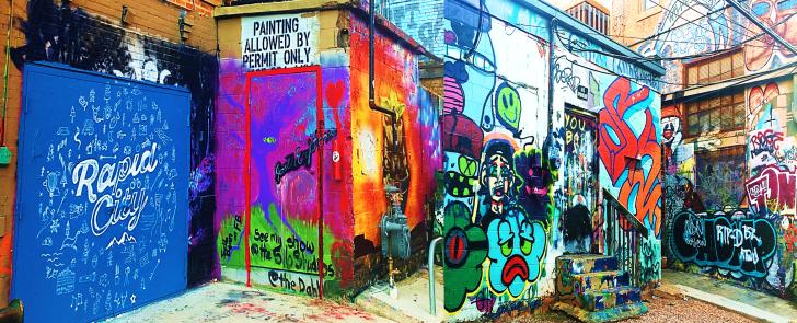 art alley in south dakota