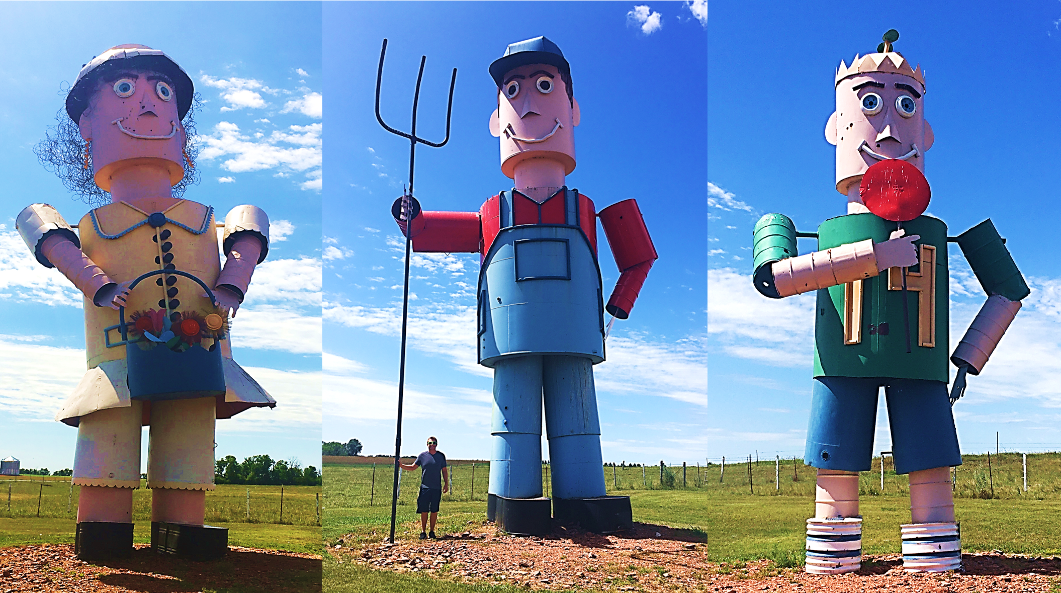tin family enchanted highway