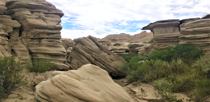 formations at toadstool geologic