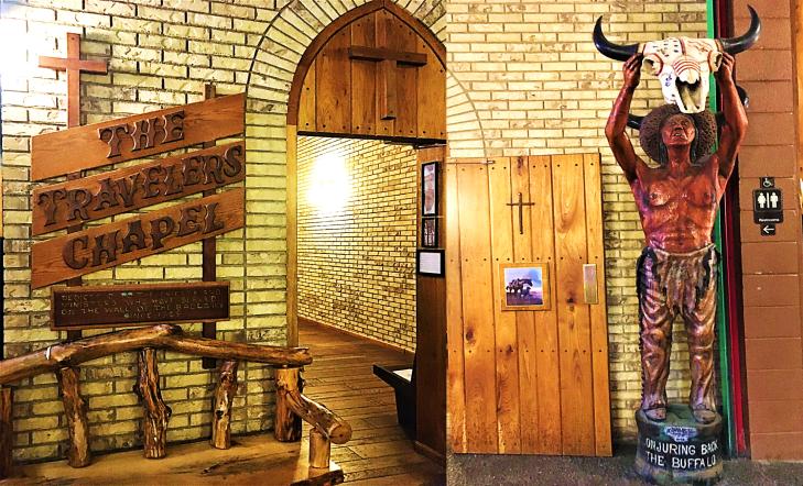 wall drug travelers chapel