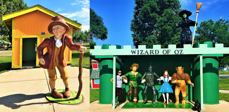 storybook island wizard of ox