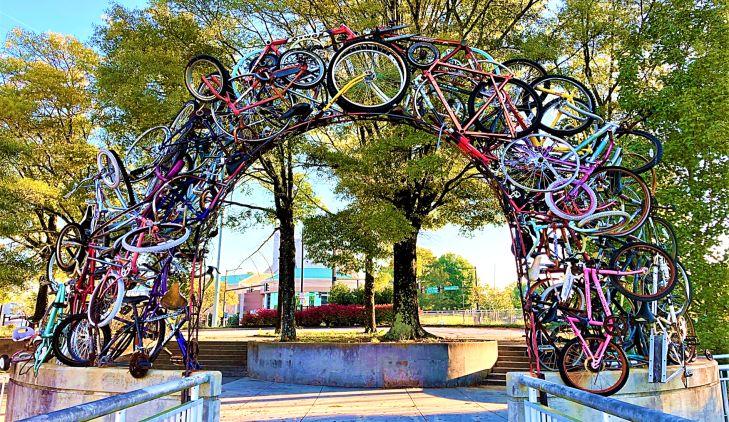 bicycle arch knoxville