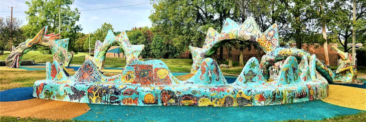 dragon sculpture park nashville
