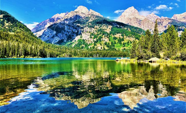 lake taggart grand teton national park
