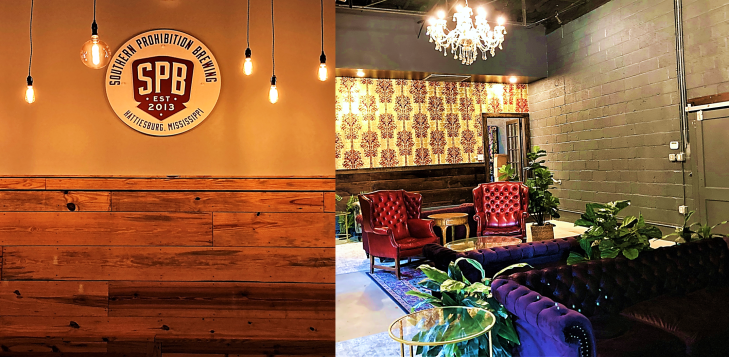 southern prohibition taproom