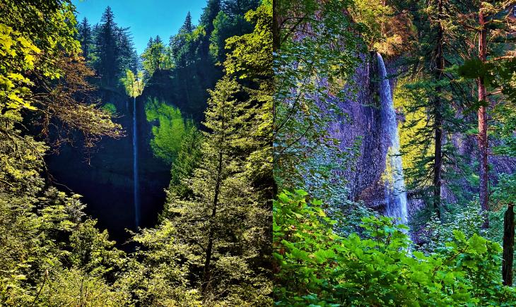Latourell Falls Oregon