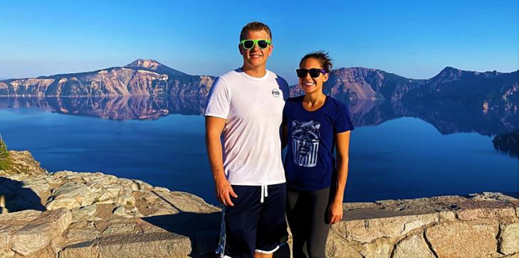 us at crater lake