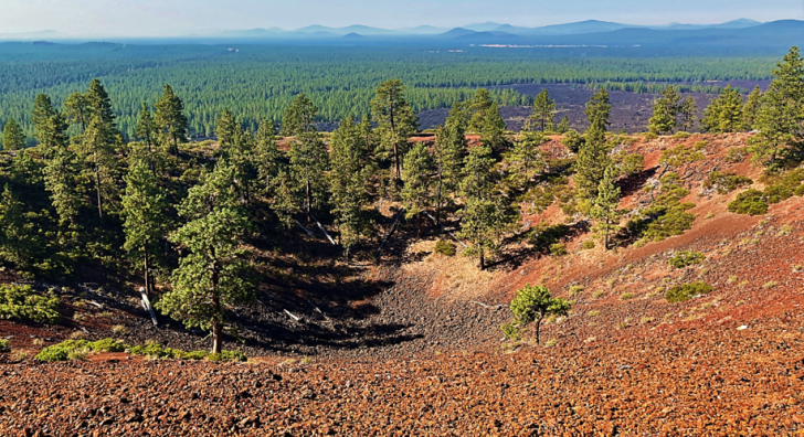 Newberry Volcanic National Monument crater