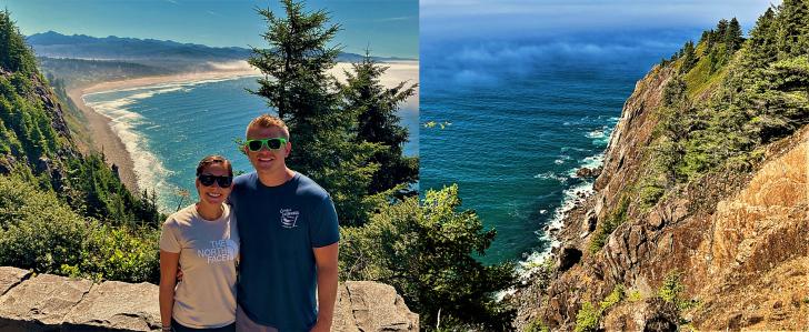 Neahkahnie Viewpoint Oregon
