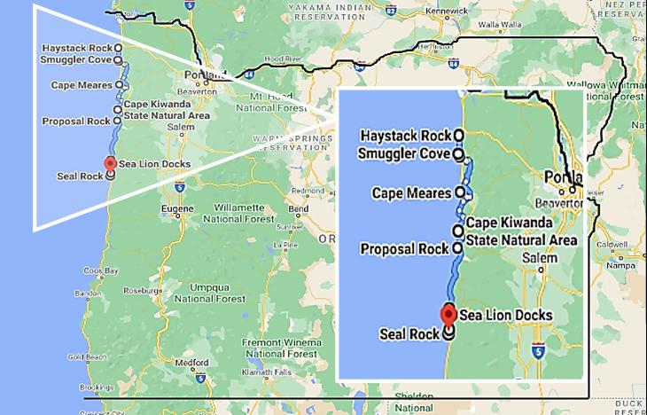 coastal oregon trip