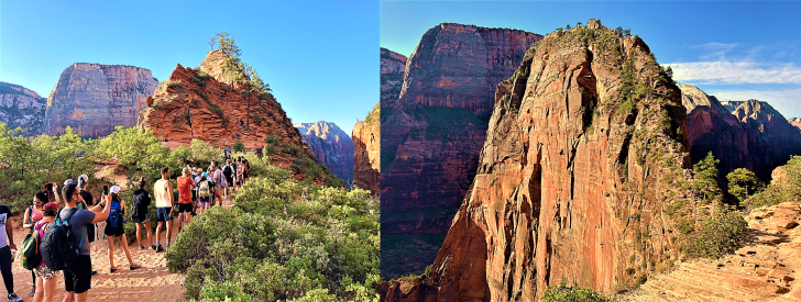 scouts lookout to angels landing