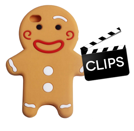 The Traveling Gingerbread Clips
